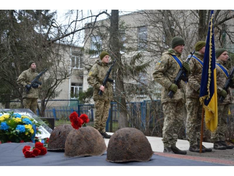 Урочисте перепоховання в Харківському районі