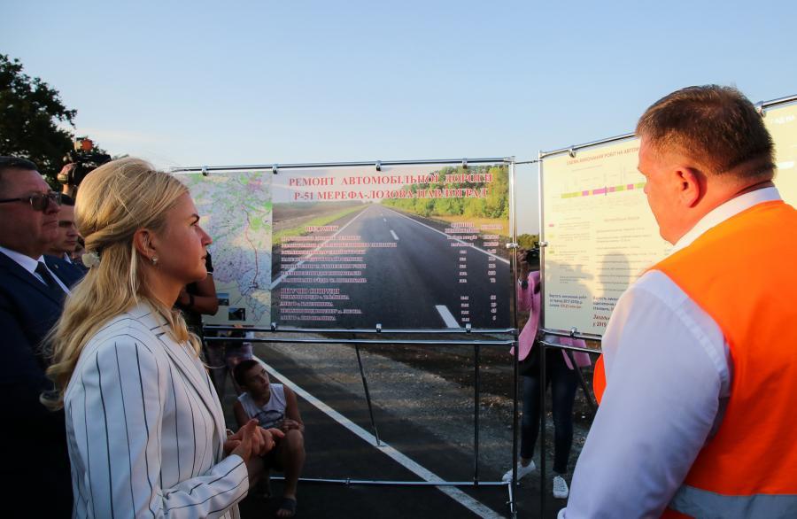 На «дорогу Светличной» до Лозовой уже понадобились сотни миллионов для ремонта