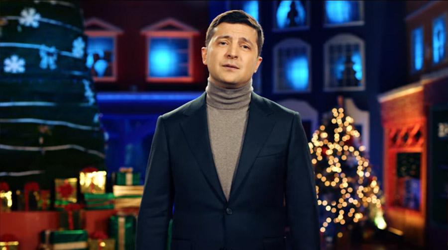 Нетрадиционное поздравление Президента Украины