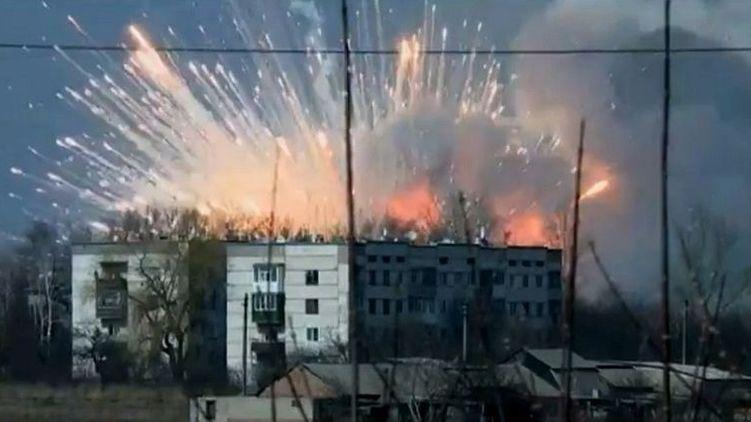 Доскакалися… Виявляється, Балаклею підірвали українські спецпризначенці з Чугуєва