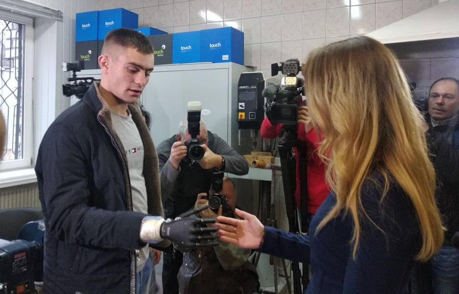 Харьковские протезисты удивили министерку