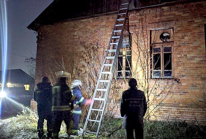 Пожар в пригороде Харькова (дополнено)