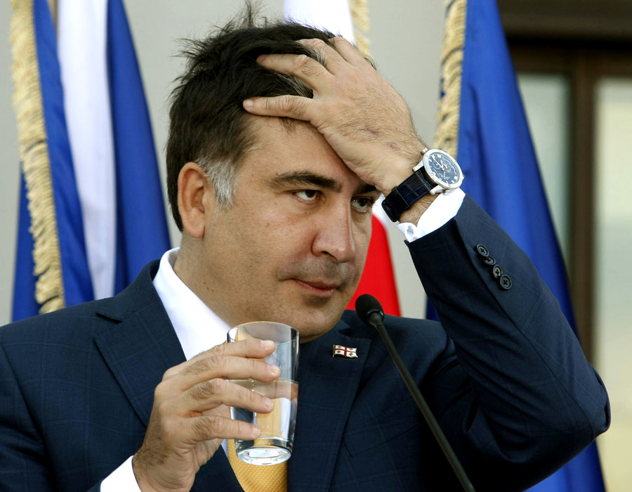Саакашвили будет сидеть