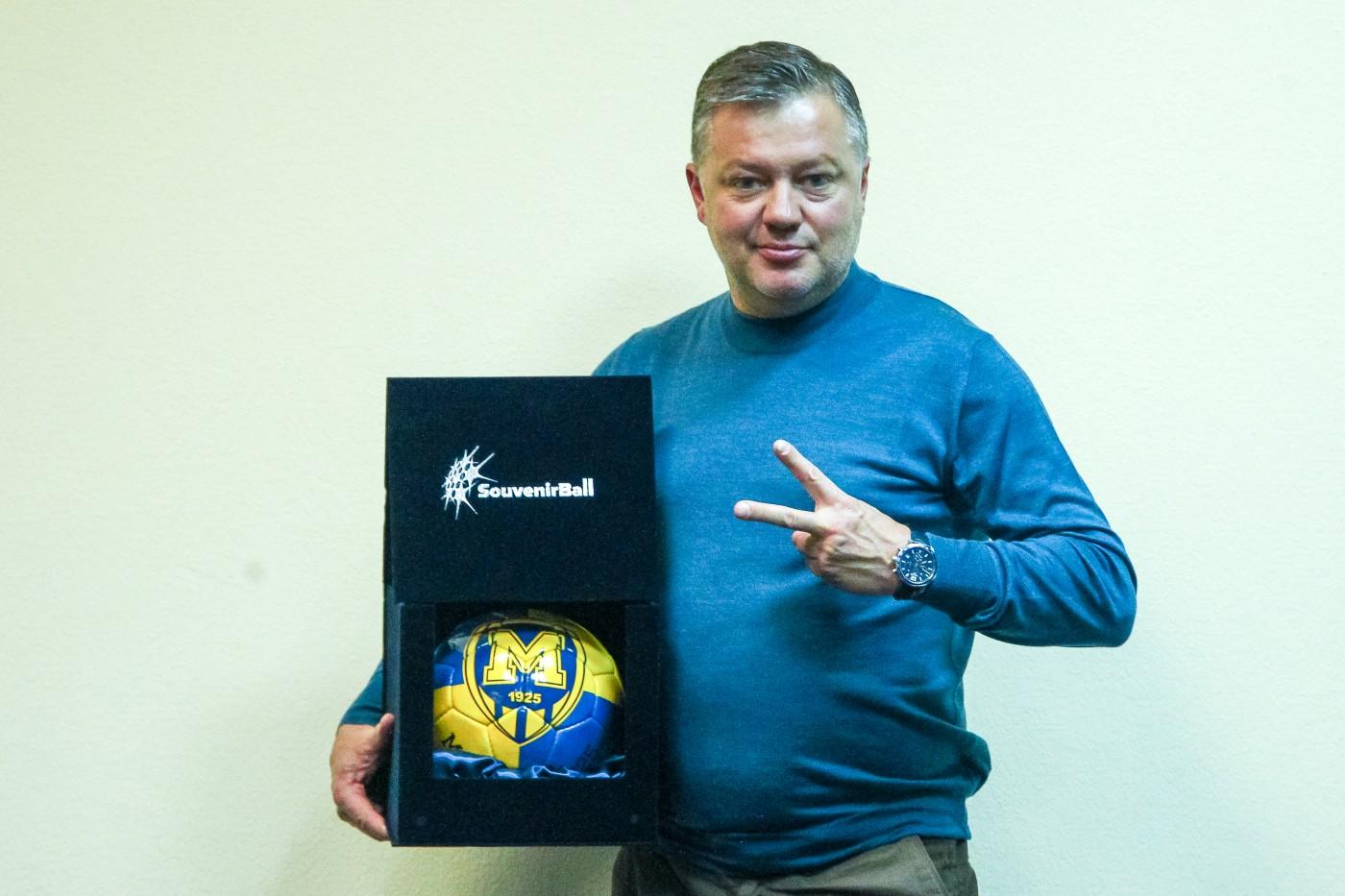 Новый гендиректор футбольного клуба