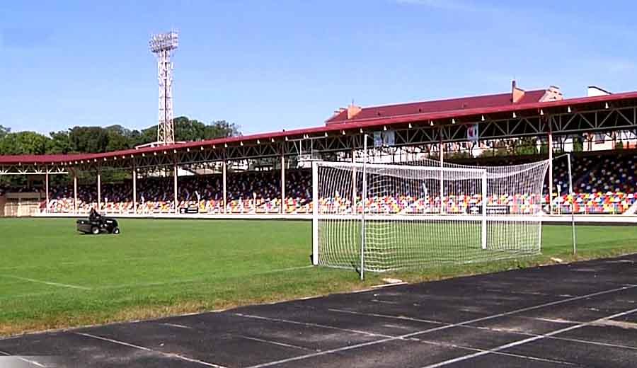 Cтадиону присвоено имя Романа Шухевича