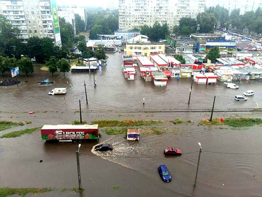Потопы и наводнения в Харькове