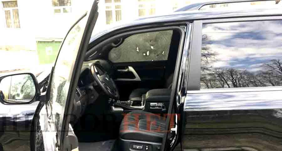 В центре Днепра расстреляли водителя: видео