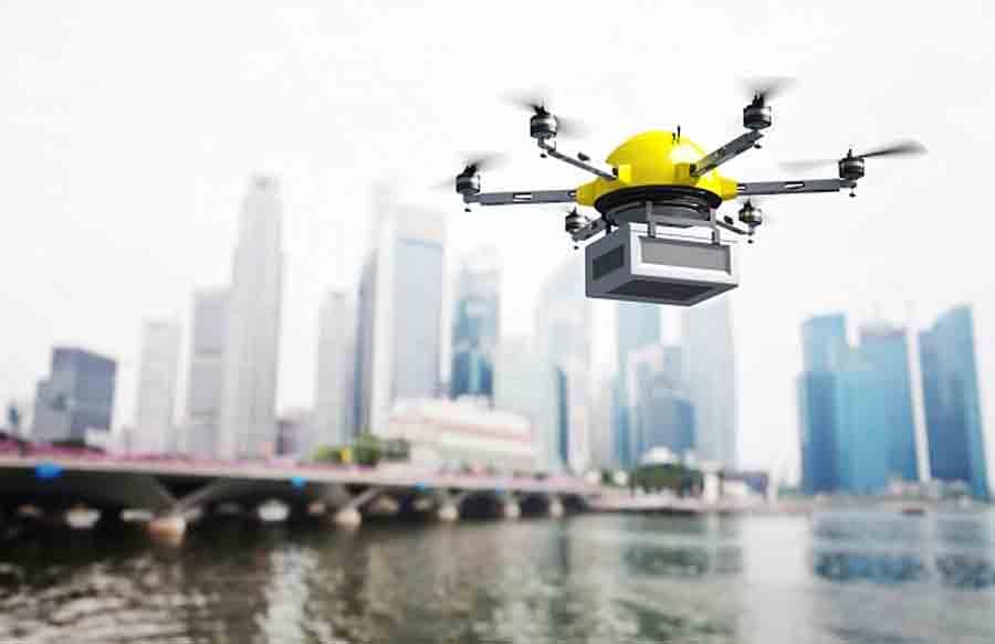 В Израиле испытают дронов-доставщиков