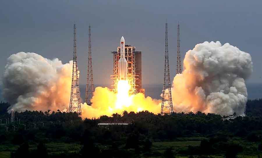 Китай строит свою космическую станцию