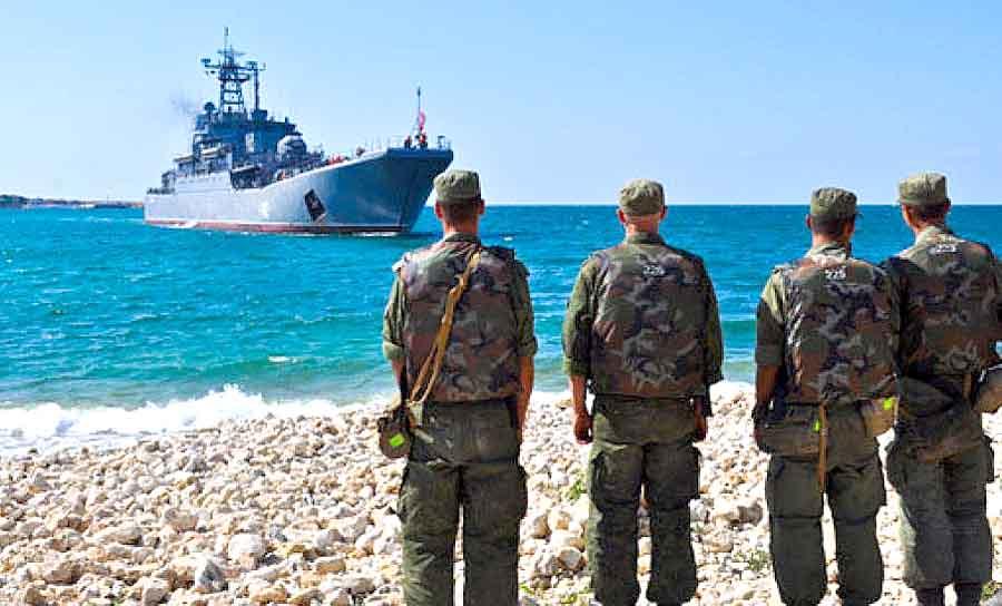 России возвращает военных в пункты постоянной дислокации