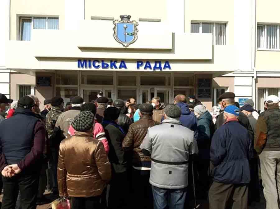 В Полтавской области протест против тарифов