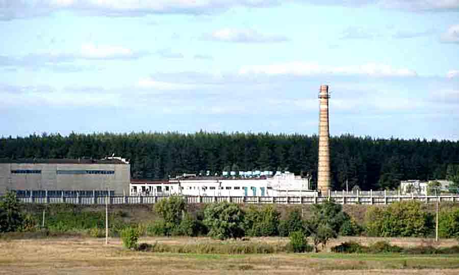 Колония загрязняет реку Уды