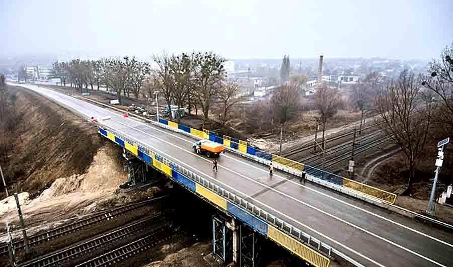 Ремонт моста на окружной Харькова перенесен на 3 мая