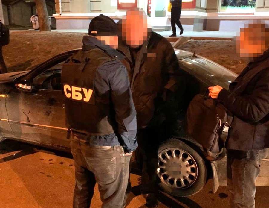 В Харькове СБУ задержала вымогателей