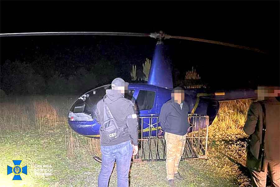 Контрабанда в Польшу доставлялась вертолетом