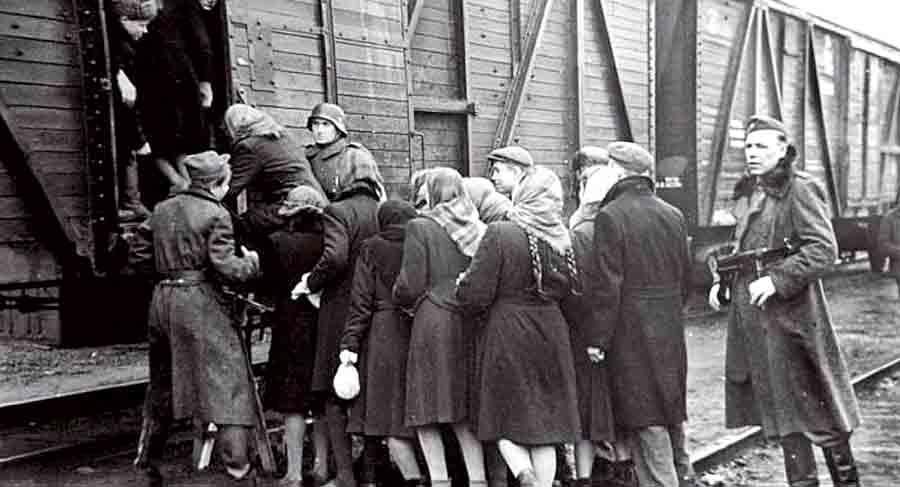 Нацистская доктрина: «Еврейское и славянское население должно быть уничтожено!»