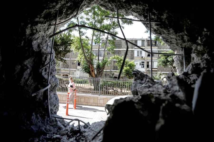 В Израиле продолжаются ракетные обстрелы