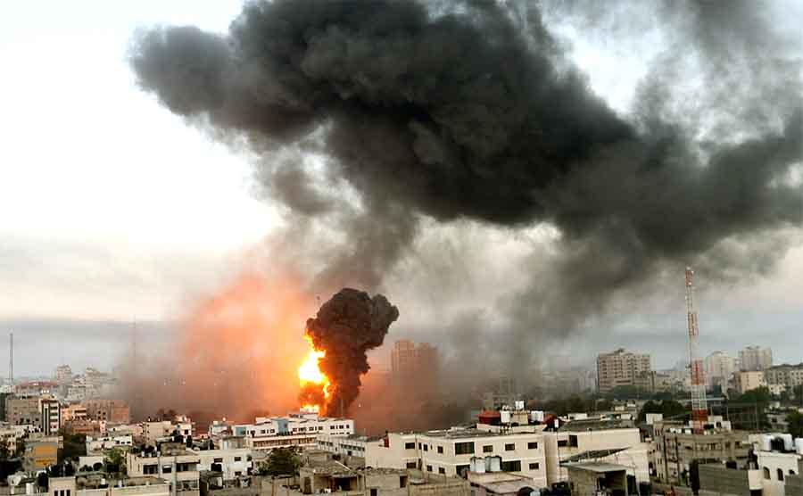 Города Израиля под обстрелом целый день