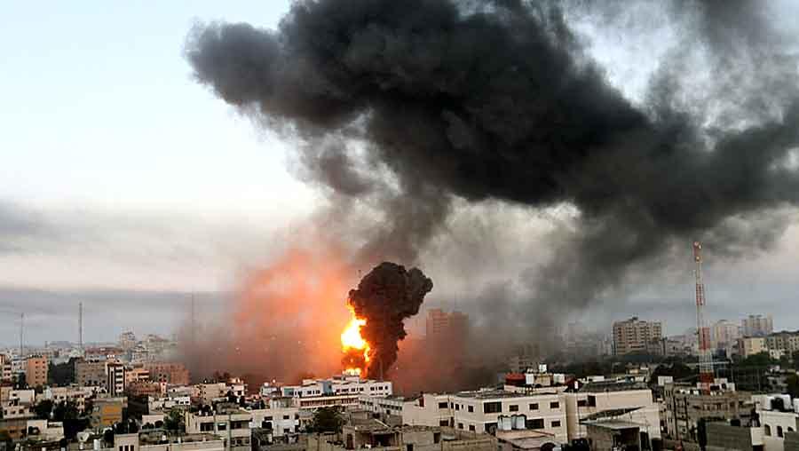 Израиль vs ХАМАС: видео