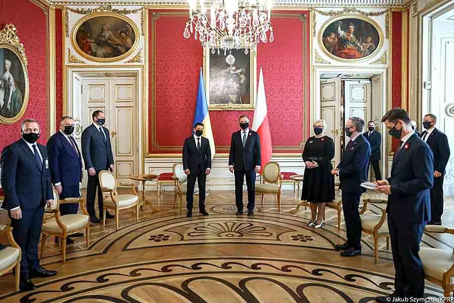 Польша за вступление Украины в ЕС