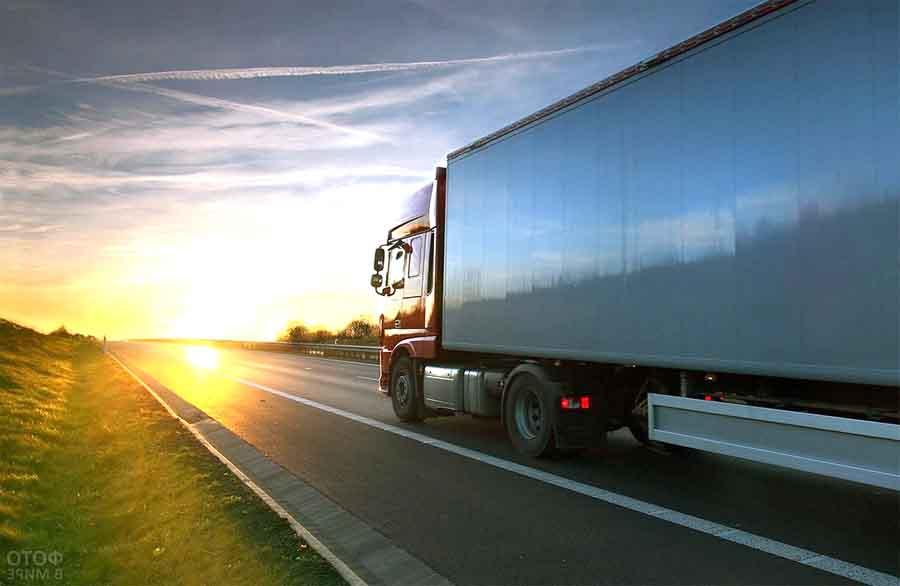 Запрет движения грузовых автомобилей