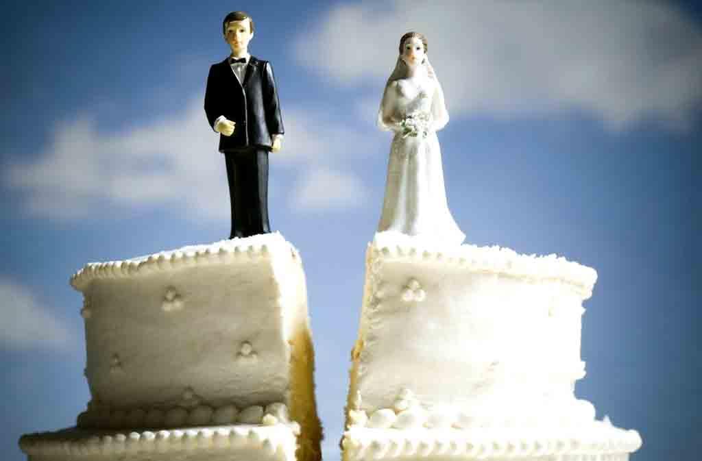 Украина — лидер по разводам