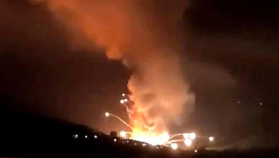 В Сербии взорвалась фабрика боеприпасов: видео