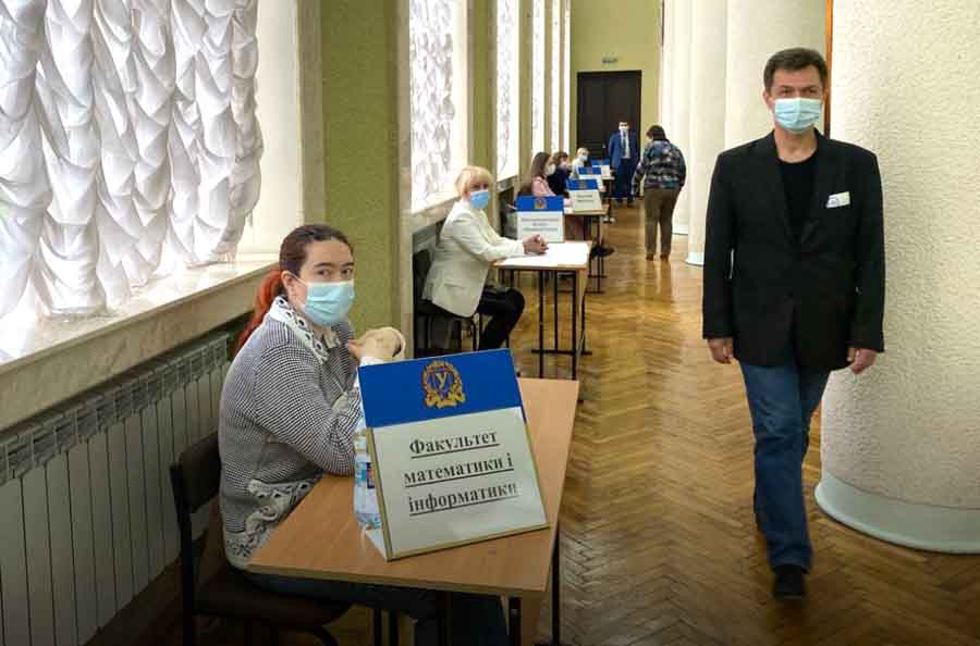 В университете им. Каразина — ІІ тур выборов ректора