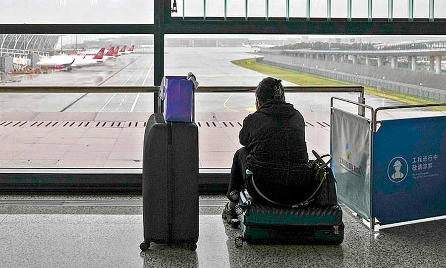 В Китае свирепствует тайфун