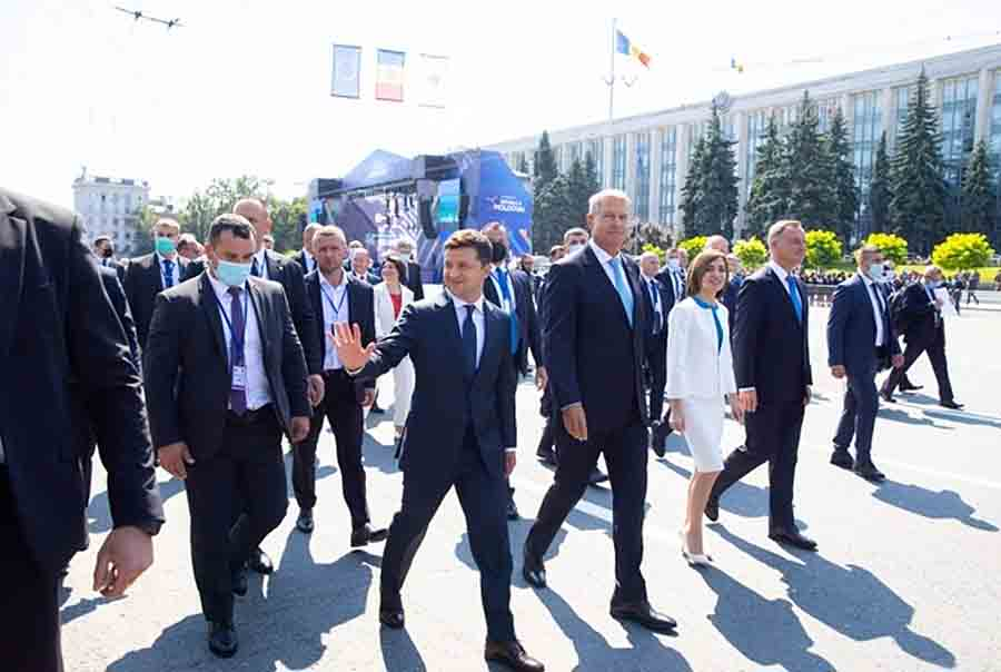 В Молдове проходят мероприятия в честь 30-й годовщины независимости