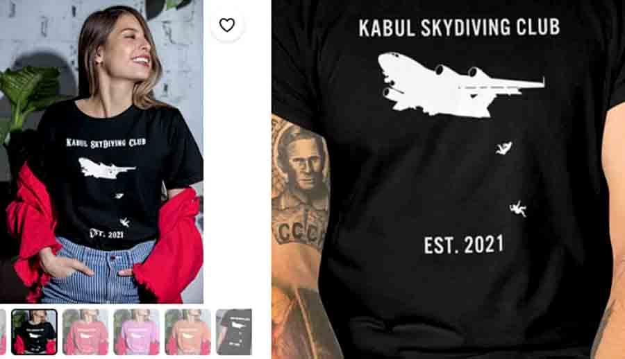 Интернет-магазин опозорился, продавая футболки с рисунком трагедии