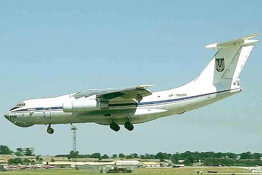 Приземлился самолет рейса Кабул — Киев