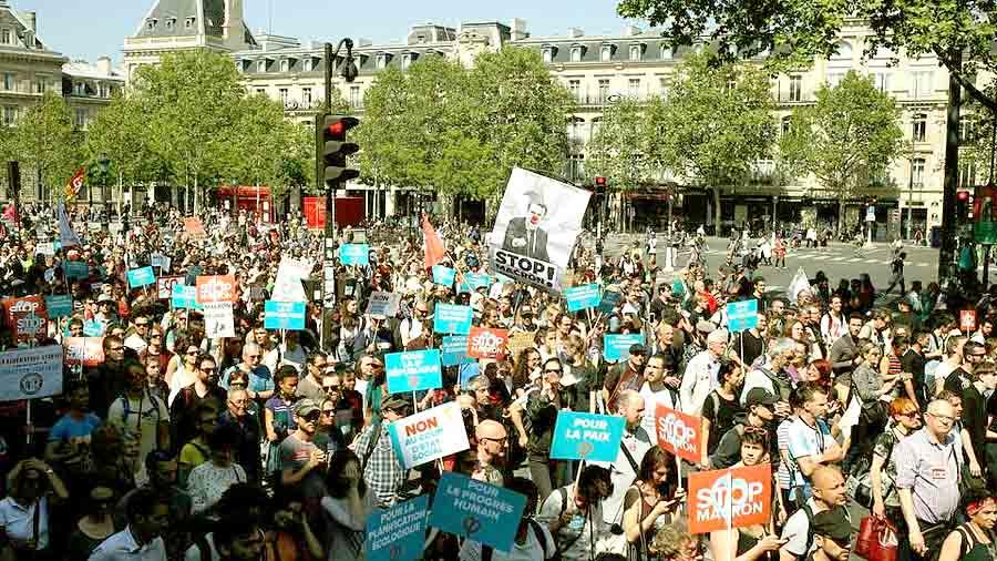 Протесты против обязательной вакцинации