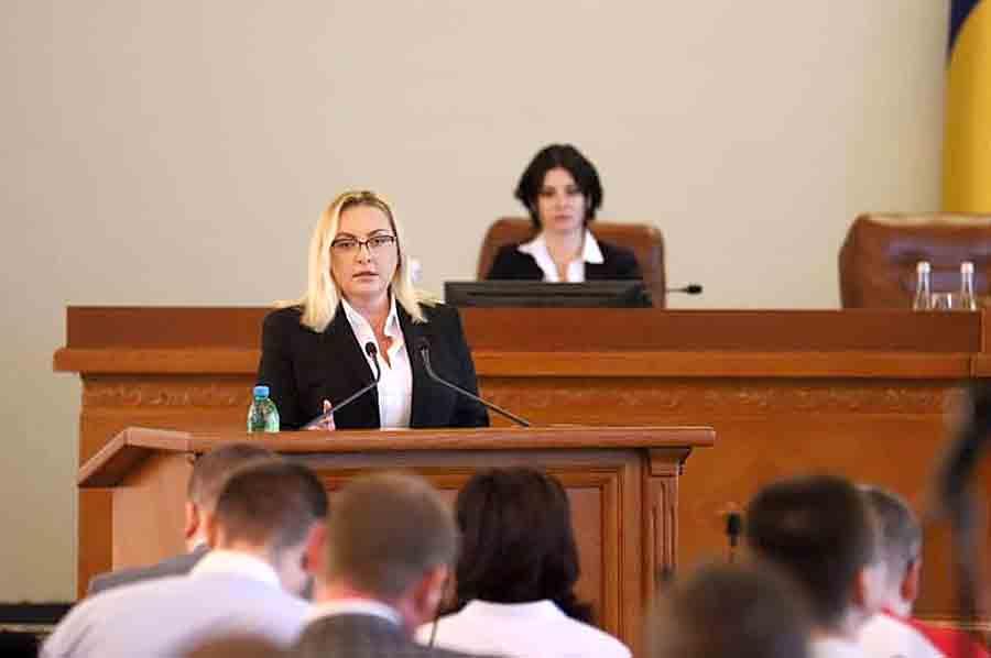 Татьяна Егорова-Луценко избрана председателем Харьковского облсовета