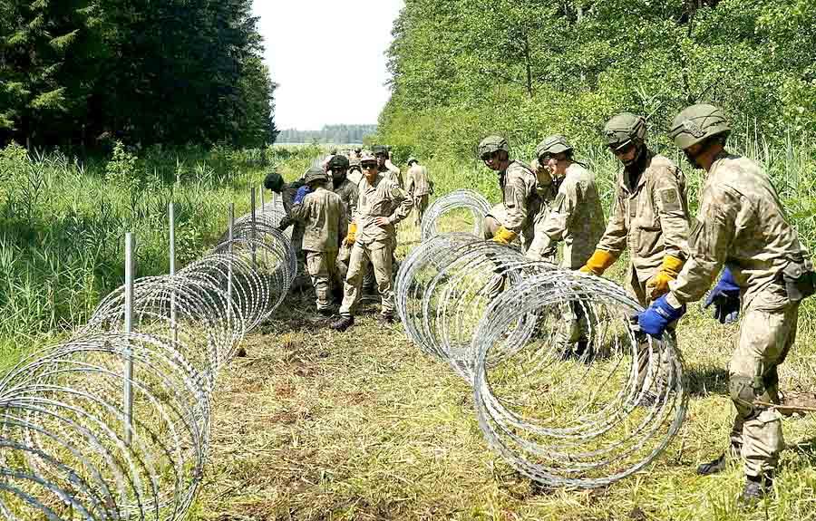 Литва продолжает усиление границы