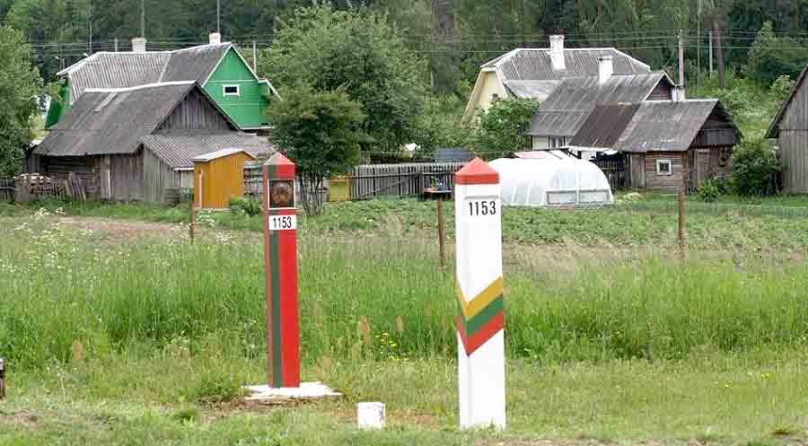 Пограничники Беларуси вытолкали нелегалов в Литву: видео