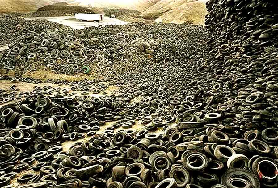 Из 42 000 000 старых автомобильных шин изготовят плитку