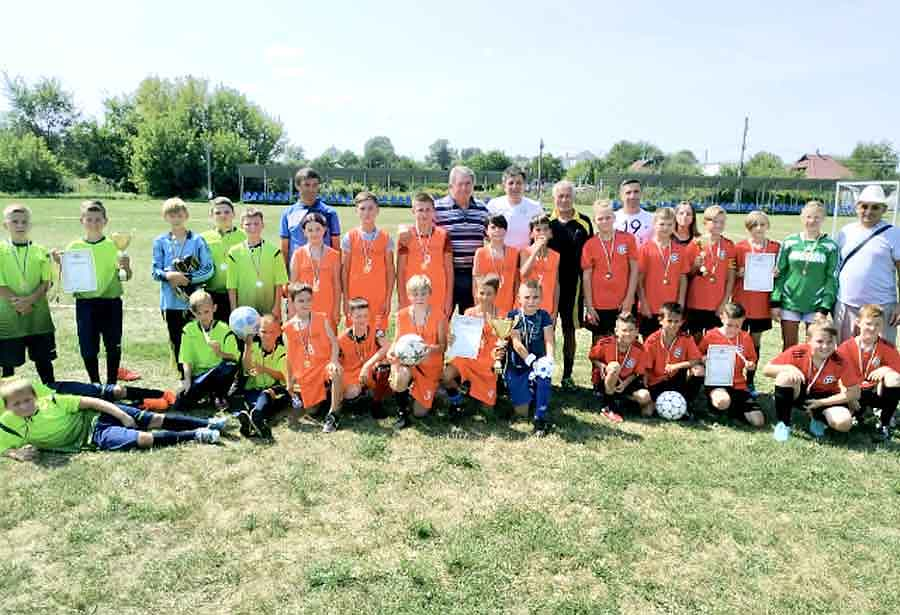Детский футбол в Липецкой громаде