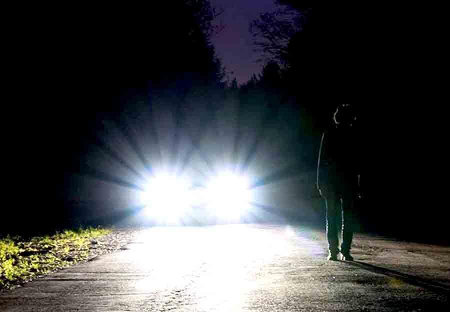 Водители, включайте ближний свет
