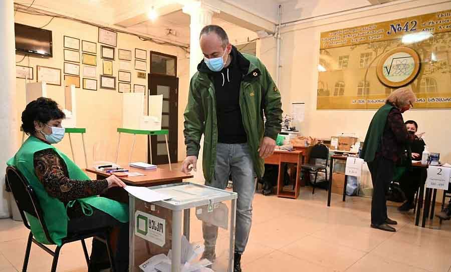 Экзитполы выборов в Грузии