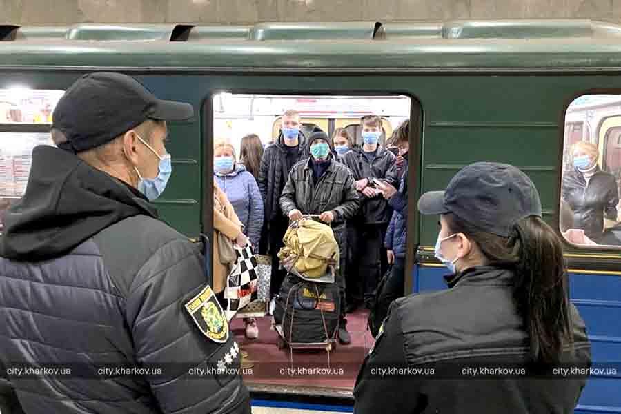 Рейды полиции в Харьковском метрополитене